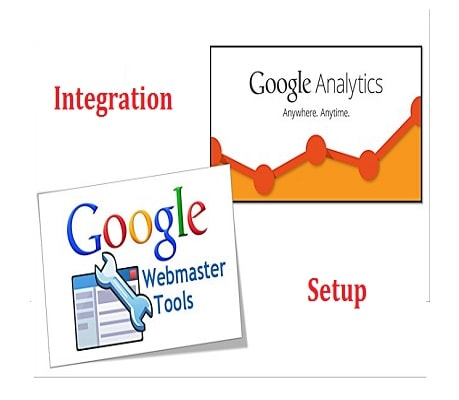 Google analytics and webmaster tools setup
