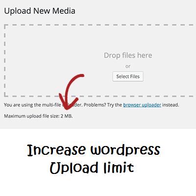 Increase upload size limit