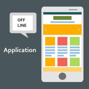 Off-line application